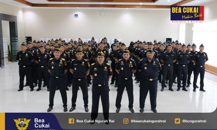 Memperingati Hari Anti Korupsi, Bea Cukai Ngurah Rai Gelar Apel Pembukaan Pekan Penegakan Disiplin