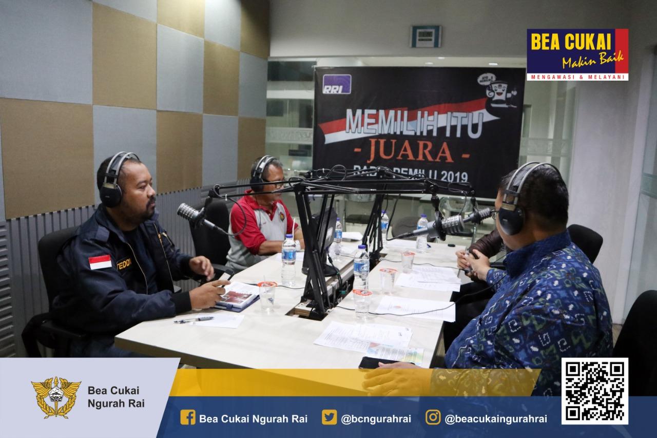 Penyuluhan NPP @ RRI Denpasar