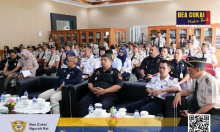 Menghadiri Undangan Pencanangan Zona Integritas,WBK dan WBBM di Kantor Kesehatan Pelabuhan Kelas I Denpasar