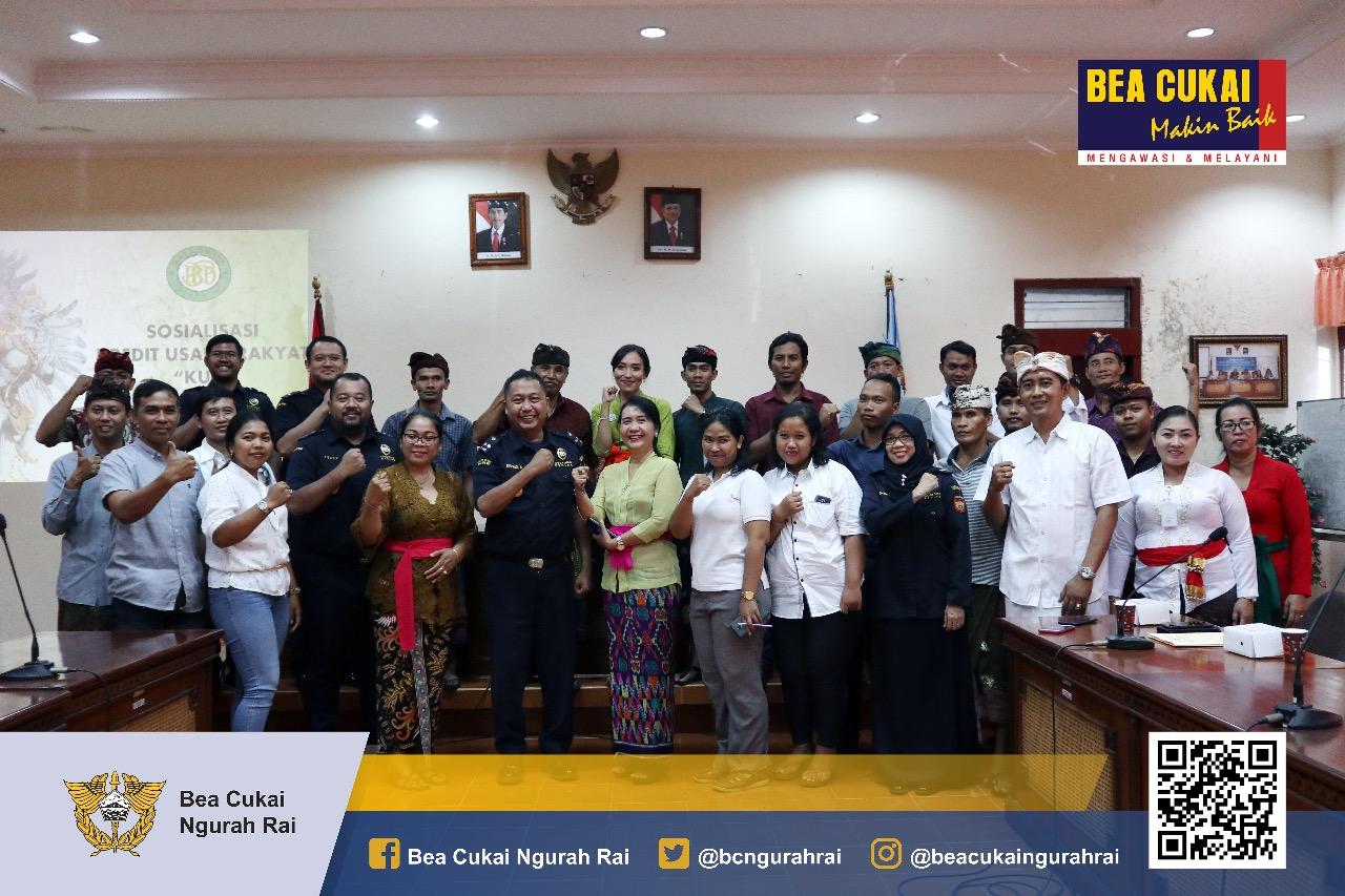 Bea Cukai Ngurah Rai Bersinergi Dengan Dinas Koperasi, Usaha Kecil dan Menengah Provinsi Bali