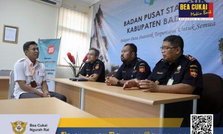 Kunjungan ke Badan Pusat Statistik (BPS) Pemerintah Kabupaten Badung