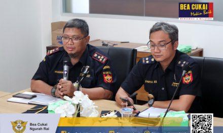 Rapat persiapan Pembangunan Zona Integritas WBK dan WBBM Kawasan Bandar Udara Internasional I Gusti Ngurah Rai.