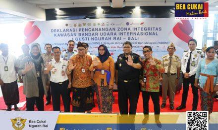 Deklarasi Komitmen Zona Integritas Kawasan Bandar Udara Internasional I Gusti Ngurah Rai