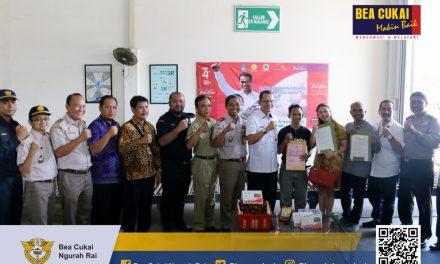 Bea Cukai Ngurah Rai hadiri acara Pelepasan Ekspor Salak Gula Pasir, Kakao Organik dan Kepongpong dengan total nilai ekspor Rp. 1,7 Milyar