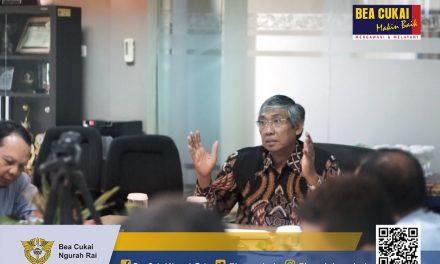 Kunjungan Wakil Menteri Keuangan, Mardiasmo ke Kantor Wilayah DJBC Bali, NTB dan NTT