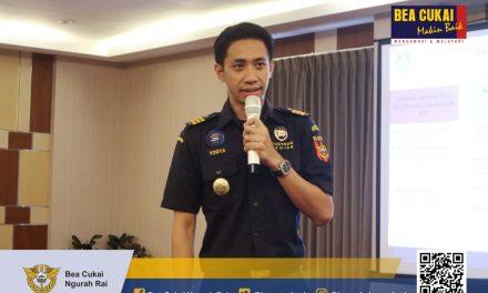 Dukung kegiatan Ekspor, Bea Cukai Ngurah Rai diundang untuk menjadi narasumber pada acara Workshop Peningkatan Ekspor Produk Kehutanan yang diadakan oleh Kementerian Lingkungan Hidup dan Kehutanan.