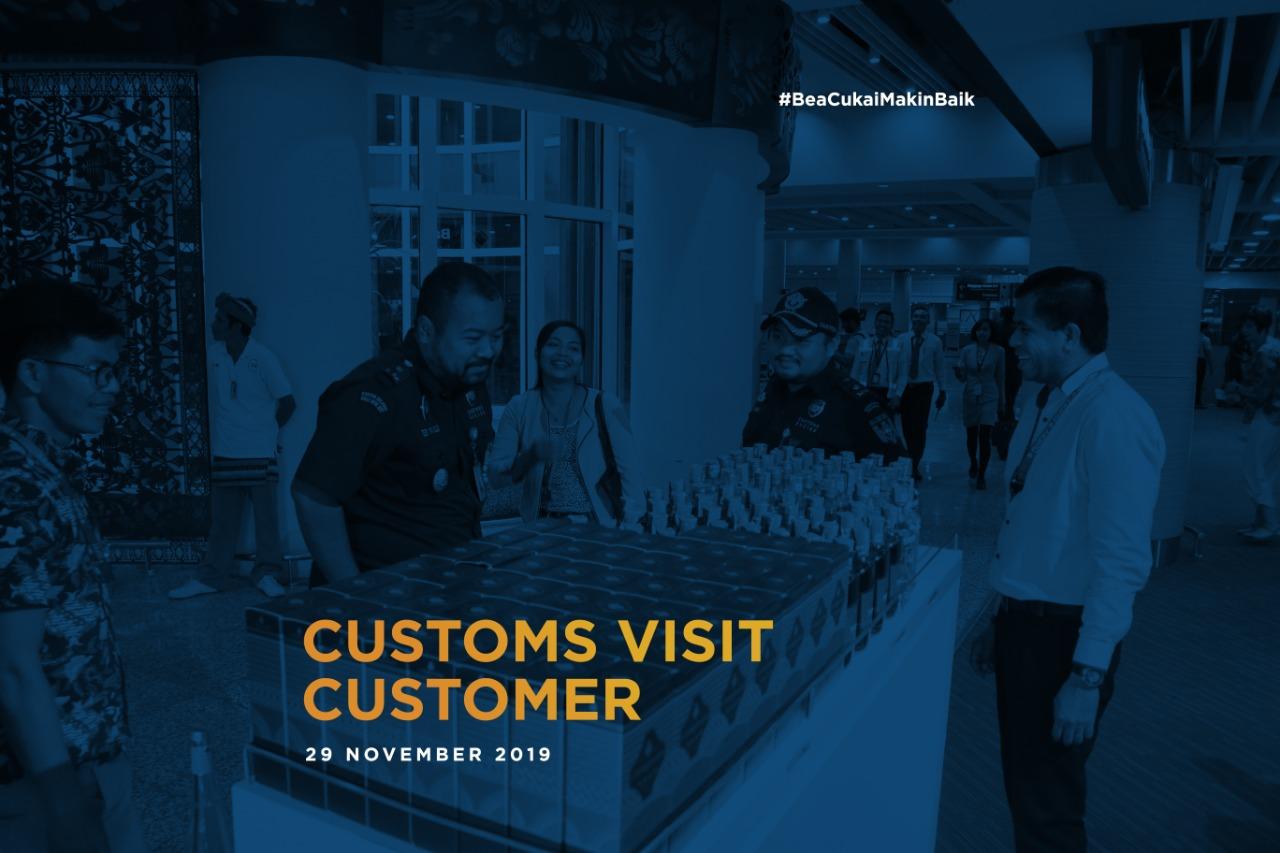 Kegiatan Customs Visit Customer ke Toko Bebas Bea di Bandara I Gusti Ngurah Rai