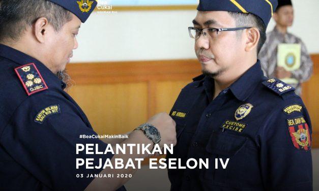 Pelantikan Pejabat Eselon IV