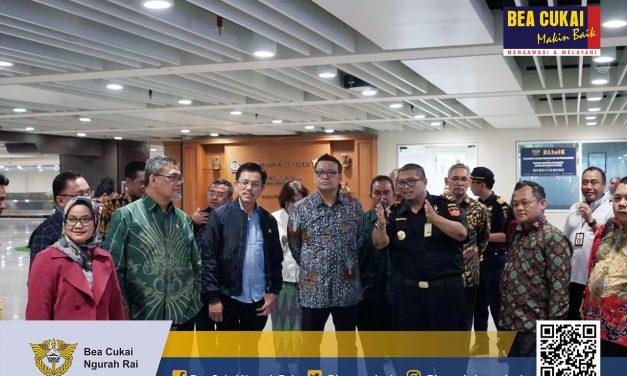Kunjungan Kerja Komisi XI DPR RI ke Bea Cukai Ngurah Rai