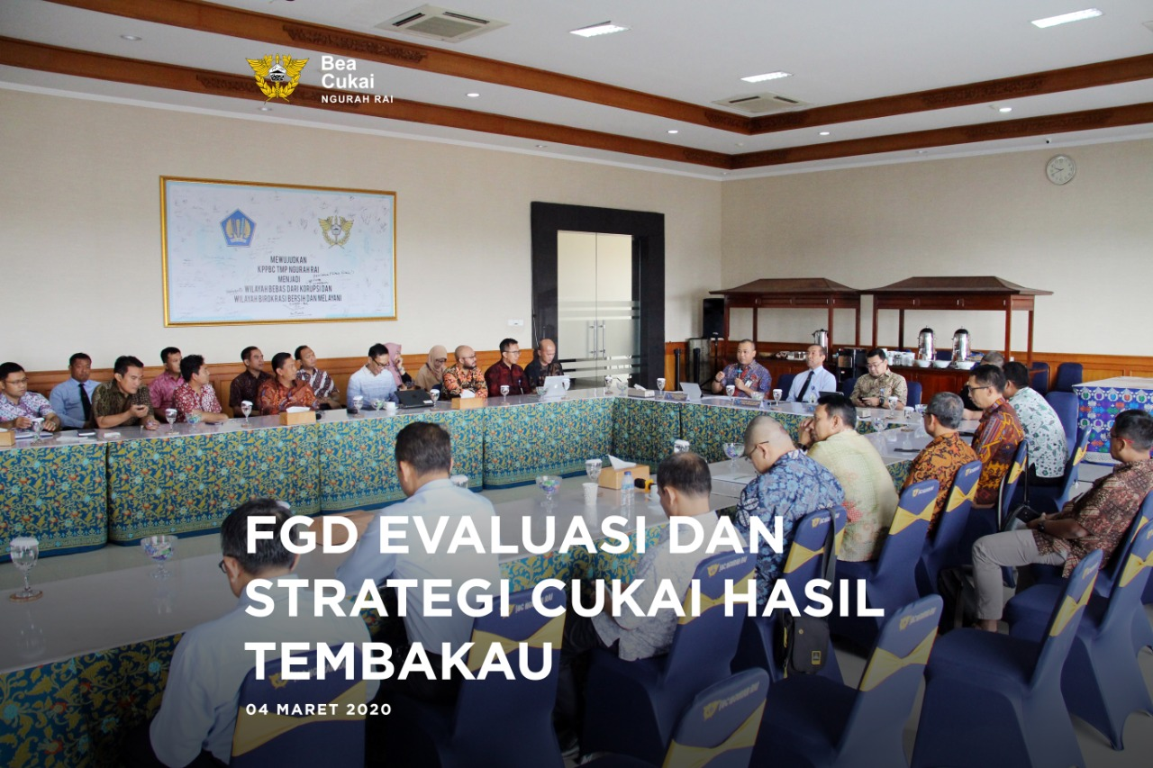 Focus Group Discussion (FGD) Cukai Hasil Tembakau