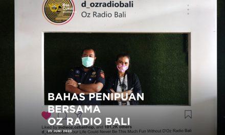 Sosialisasikan modus penipuan yang mengatasnamakan Bea Cukai di D Oz Radio Bali