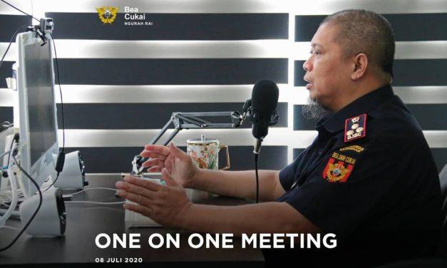 Tinjau kondisi perusahaan di masa Pandemi, Bea Cukai Ngurah Rai selenggarakan One on One Meeting