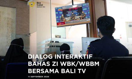 Bersama BALI TV Bea Cukai Ngurah Rai sosialisasikan kesiapan dalam rangka meraih Zona Integritas menuju WBBM
