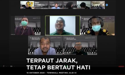 Townhall Meeting Perpisahan: Terpaut Jarak, Tetap Bertaut Hati