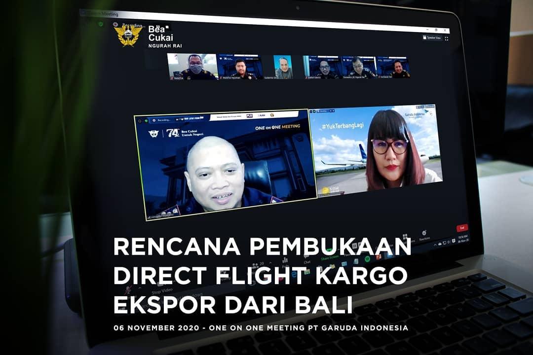 Rencana Pembukaan Direct Flight Kargo Ekspor Dari Bali