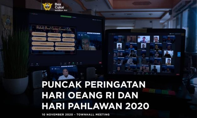 Puncak Peringatan Hari Oeang RI dan Hari Pahlawan 2020