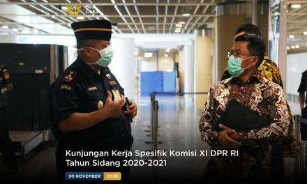 Kunjungan Kerja Spesifik Komisi XI DPR RI Tahun Sidang 2020-2021