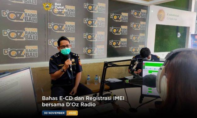 Bahas E-CD dan Registrasi IMEI bersama OZ Radio
