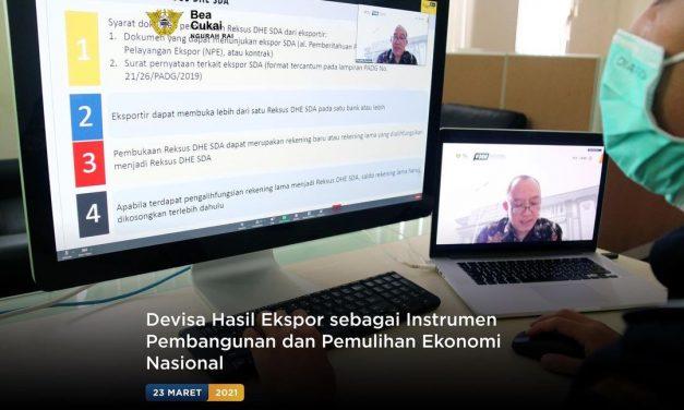Devisa Hasil Ekspor sebagai Instrumen Pembangunan dan Pemulihan Ekonomi Nasional
