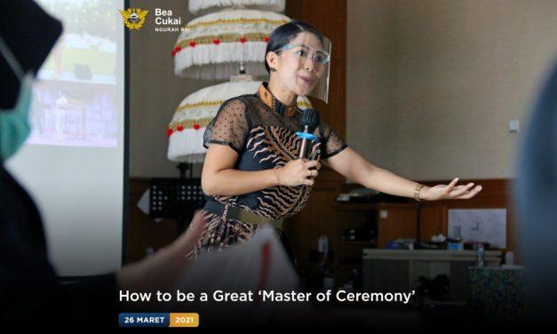Pelatihan bertajuk 'Master Class: How to be a Great MC'