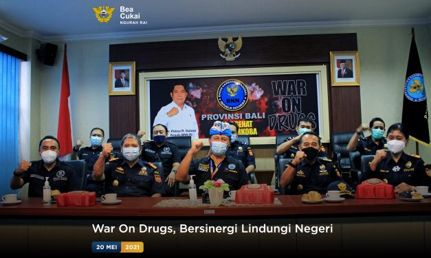 War On Drugs, Bersinergi Lindungi Negeri