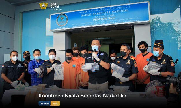 Komitmen Nyata Berantas Narkotika