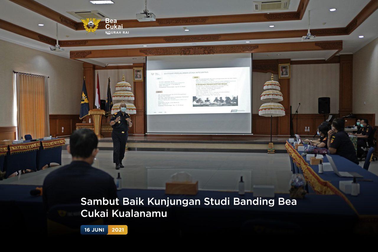 Sambut Baik Kunjungan Studi Banding Bea Cukai Kualanamu