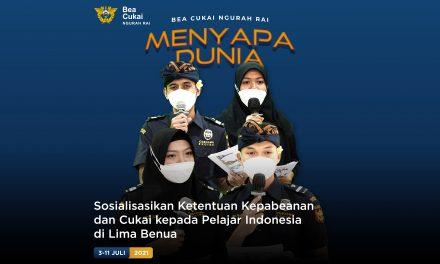 Sosialisasikan Ketentuan Kepabeanan dan Cukai kepada Pelajar Indonesia di Lima Benua