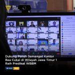 Dukung Penuh Semangat Kantor Bea Cukai di Wilayah Jawa Timur 1 Raih Predikat WBBM