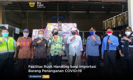 Fasilitas Rush Handling bagi Importasi Barang Penanganan COVID-19