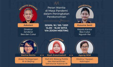 Webinar Women Empowerment Peran Wanita di Masa Pandemi dalam Peningkatan Perekonomian