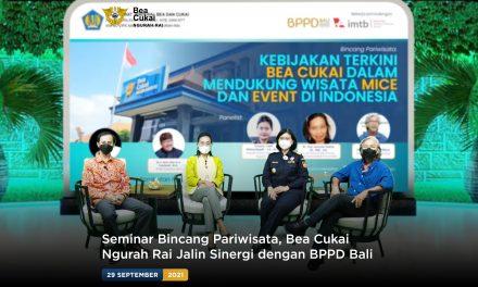 Seminar Bincang Pariwisata, Bea Cukai Ngurah Rai Jalin Sinergi dengan BPPD Bali