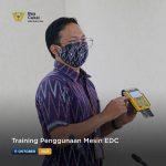 Training Penggunaan Mesin EDC